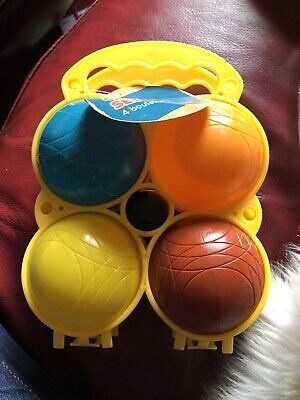 Childrens Boules Set In Carry Case • 2.50£