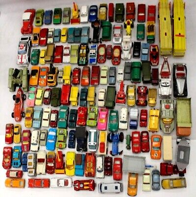 135 X LESNEY / MATCHBOX Assorted Die-cast Model Vehicles, Cars - Y96 • 22£