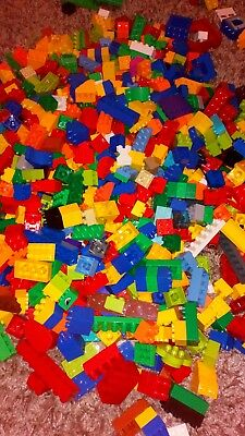 Lego Duplo Bundle Assorted Bricks And Colours 500g 1/2kg Nice Clean Condition  • 16.99£