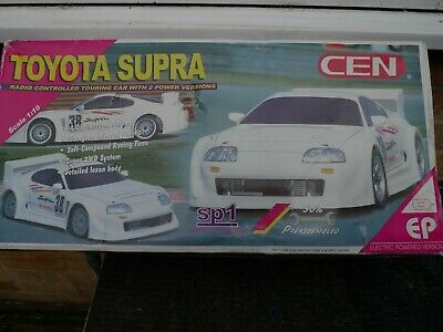 CEN Electric Powered Toyota Supra RC Car 1/10 Scale Radio Controlled .SP1  • 69.99£