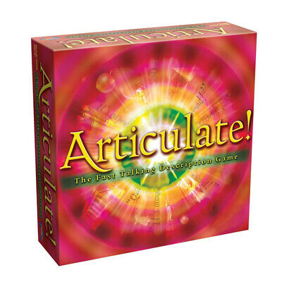 Family Talking Fun Play Word Articulate Describe Fast Description Board Game Set • 16.49£
