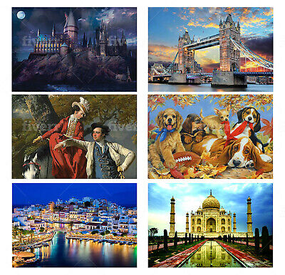 1000 Pieces Jigsaw Puzzle Famous Landmark Adult Kids Educational Puzzle Gift Set • 12.50£