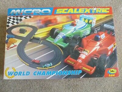 Micro Scalextric World Championship Scale 1:64 • 17.99£