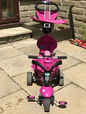 Little Tikes 4 In 1 Baby/Toddler Outdoor Trike - Pink • 10£