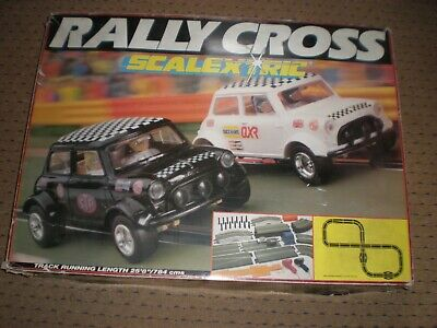 Scalextric Rally Cross Mini Set  Toys R Us  V/G Condition Boxed C555 UKSALE ONLY • 39.99£