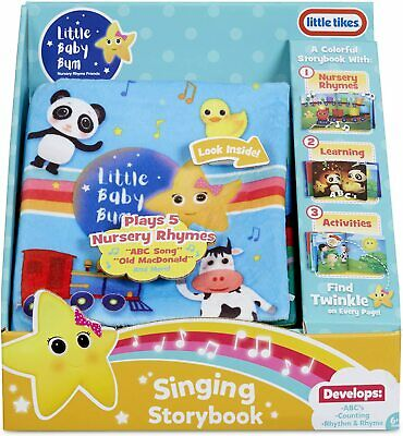 Little Tikes Little Baby Bum Singing Storybook • 27.99£