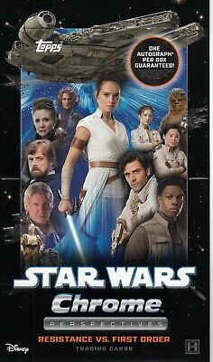 2020 Topps Star Wars Chrome Perspectives Resistance Refractor • 3£