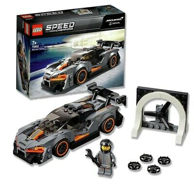 LEGO 75892 Speed Champions McLaren Senna Model Racing Toy Car Kids Building Set • 13.94£
