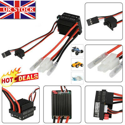 1 Pc High Voltage Waterproof 320A Brushed ESC Speed Controller For RC Car Boat U • 9.91£