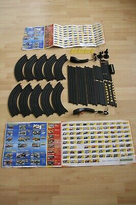 Micro Scalextric Track, 2 X Controllers Curves Straights Chicane Accessories Etc • 12.99£