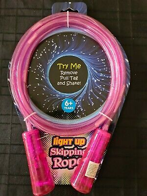 Light Up Skipping Rope Pink  • 5.99£