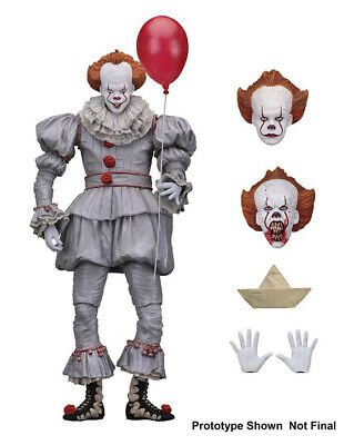 NECA Stephen King's It The Clown Pennywise PVC Horror Action Figure Model Toys ! • 14.54£