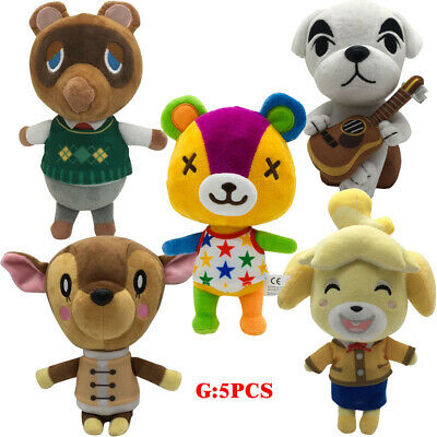 Animal Crossing Stitches Lsabelle Fauna Plush Toy Soft Stuffed Doll Kids Gift • 26.89£