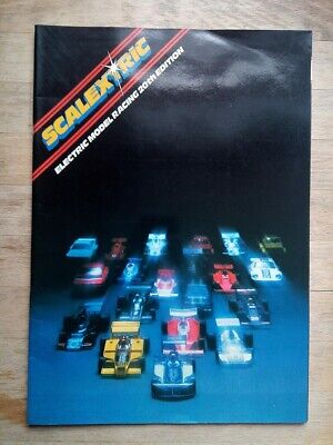 Scalextric Catalogue 20th Edition From 1979 (with Price List) • 2.99£