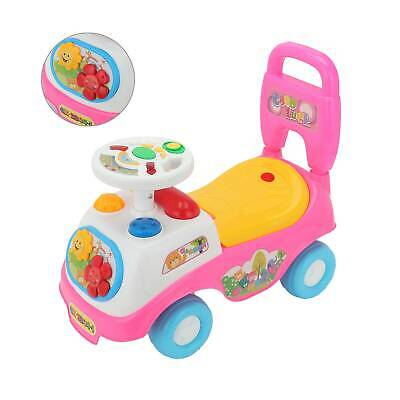 Kids FIRST RIDE ON KIDS TOY PUSH ALONG CAR BOYS GIRLS TODDLERS INFANTS WALKER • 15.49£
