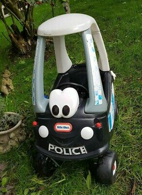 Little Tikes Police Cozy Coupe Car Ride On Car Outdoor Toy  • 29.99£