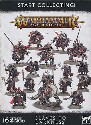 Warhammer Age Of Sigmar Start Collecting Slaves To Darkness Singles • 5.12£