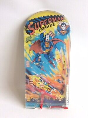 Vintage DC Comics 1978 SUPERMAN BAGATELLE Pin Ball Game  • 25.99£