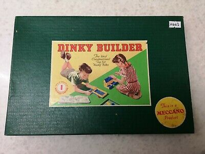 Vintage Meccano Dinky Builder Boxed 1958 • 85£