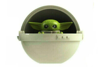 Baby Yoda With Pod Star Wars Mandalorian MOC Minifigure Compatible With LEGO • 2.50£