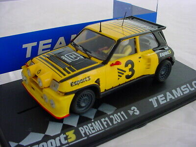 Team Slot ESPORT E3 Renault Maxiturbo #3 ELSESPORT Premi F1 2011 SRE02 MB 1/32 • 26£