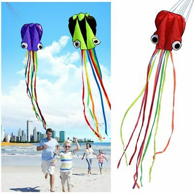 Hot Software Toy Outdoor Sport Single Line Stunt Octopus Kite Flying 3D Cartoon • 4.77£
