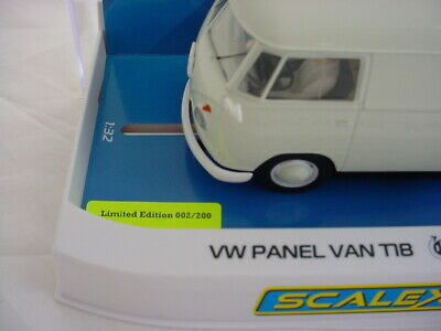 Scalextric Volkeswagen T1b Panel Van White #002 Of 200 C4092 LOW NUMBER MB • 70£