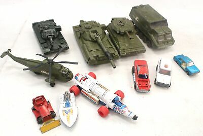 Collection Of Vintage Diecast Vehicles Mostly DINKY Inc ARMY  - L52 • 15.05£