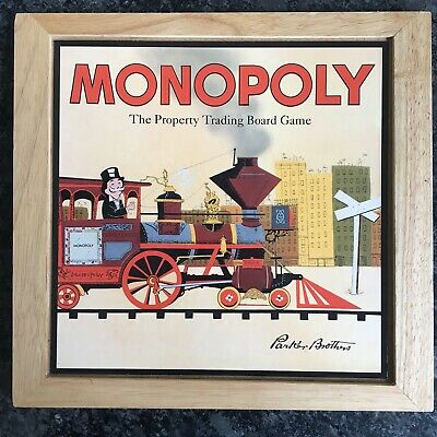 Monopoly Wooden Game • 14.99£