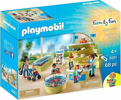 Playmobil Family Fun Aquarium Shop • 22.45£