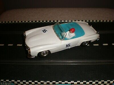 Scalextric Mercedes 190SL (White)  - V/G Condition Used Unboxed  C75 • 49.99£