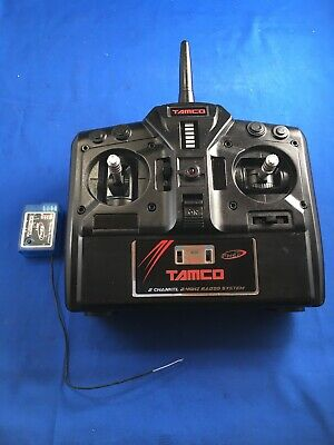 Tamco Vintage 2.4 Ghz Transmitter Receiver Rc Car Set Working  • 20£