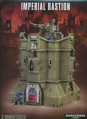 Warhammer 40,000 Imperial Bastion Sections • 9.77£