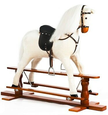 Brand New LUXURIOUS EXTRA LARGE Rocking Horse  PRECIOUS  SIZE XL Age 6 -13 Years • 225£