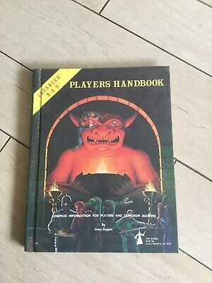 Dungeons And Dragons Players Handbook 1978 • 20£