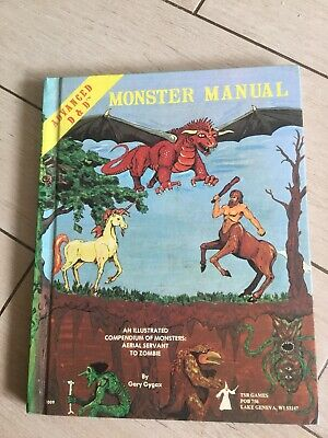 Dungeons And Dragons Monster Manual 1977,78 • 18£