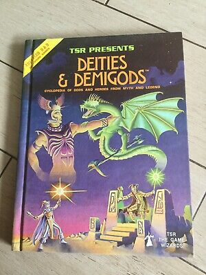 Dungeons And Dragons Deities And Demigods 1980 • 22.80£