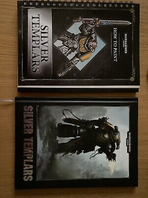 Warhammer 40k Conquest Silver Templar Codex Suppliment And Painting Guide • 29£