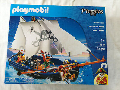 Playmobil 5810 Pirate Ship Boat Playset Pirate Corsair BRAND NEW Sealed • 37.99£