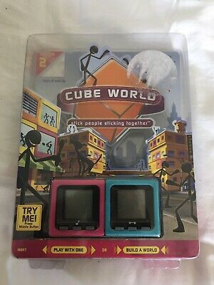 RADICA Cube World Series 2 MIC AND HANS - BRAND NEW AND SEALED *RARE* • 24.95£