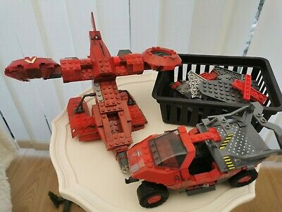 Halo Mega Blocks Medical Warthog Bundle + Spares • 10.60£