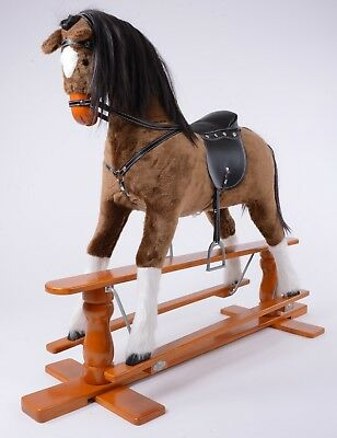 Brand New LUXURIOUS EXTRA LARGE Rocking Horse  CHAMPION  SIZE XL Age 6 -13 Years • 225£