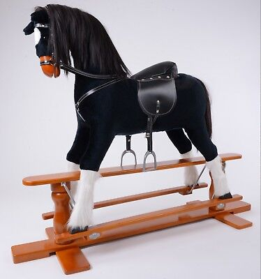 Brand New LUXURIOUS EXTRA LARGE Rocking Horse  SHADOW  SIZE XL Age 6 -13 Years • 225£