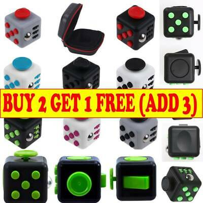 Fidget Cube Spinner Toy Children Desk Adults Stress Pressure Relief Cubes MN UK! • 4.25£