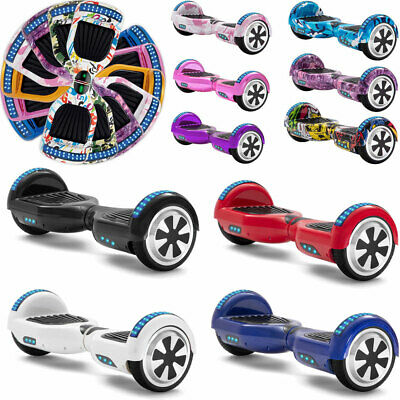 Hoverboard Bluetooth 6.5  Electric Scooters Colorful 2 Wheels Balance Skateboard • 115£