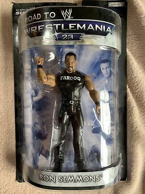 Jakks Pacific Road To Wrestlemania 23 Ron Simmons Figure • 12£