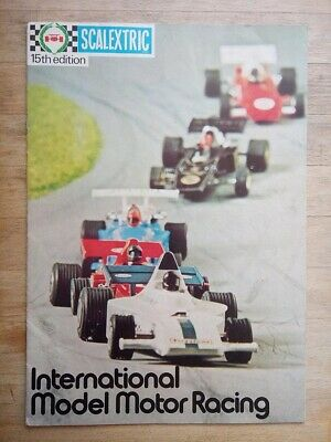Scalextric Catalogue 15th Edition From 1974 • 1.99£
