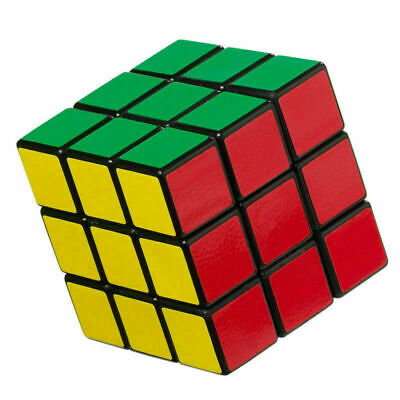 Kids Fun Cube Toy For Rubix Mind Game Classic Magic Rubic Puzzle XMas Gift • 3.69£