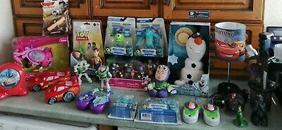 Disney Large Job Lot Bundle Toys New Unopened And Used Toy Story,cars, Frozen • 35£