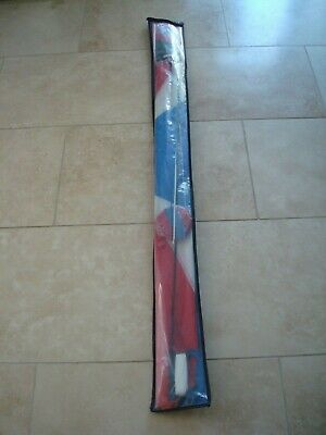 Tri Plane Red White Blue 5ft Wingspan Kite From M&S • 14.95£